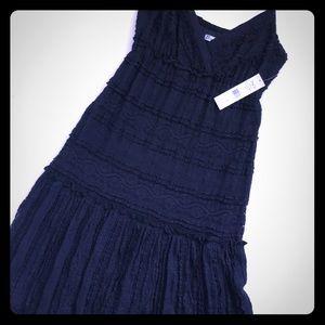 NWT Eliza J Lace Maxi Dress